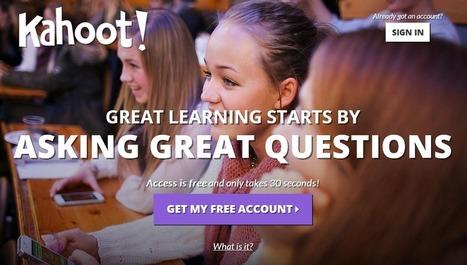 Блог сообщества e-Learning PRO: Сервис Kahoot: мобильные опросы | Образование | Scoop.it