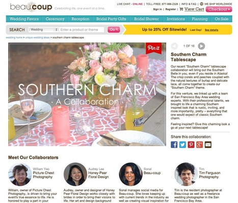 Southern Charm Wedding Tablescape | Picture Chest Photography { Inspirations & Insights } | Scoop.it