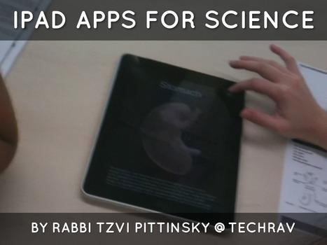 Tech Rav: iPad Apps for Science | ICT Integration in Australian Schools | Scoop.it