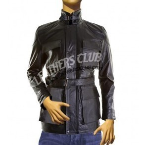 Tom Hardy (Bane) Black Leather Coat From The Dark Knight Rises | Halloween Jackets | Scoop.it