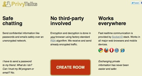Secure private chat with browser RSA encryption - PrivyTalks.com | Teaching in the XXI Century | Scoop.it