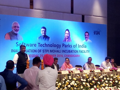 Megrisoft Attended Inauguration Ceremony of STPI Incubation Facility At Mohali, Chandigarh | Business | Scoop.it