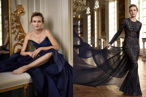 La maison Martell fête ses 300 ans - Diane Kruger ambassadrice de charme à Versailles | Médias sociaux et tourisme | Scoop.it