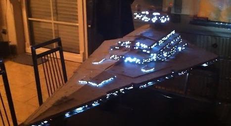 World's Most Detailed Star Wars Avenger Star Destroyer Model | star wars world war 2 | Scoop.it