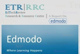 Edmodo - Social Network for Education - Free Report - EdTechReview | iGeneration - 21st Century Education | Scoop.it