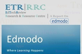 Edmodo - Social Network for Education - Free Report - EdTechReview (ETR) | Education Resources | Scoop.it