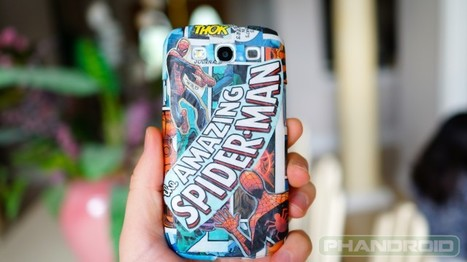 DIY: Custom comic book case for Samsung Galaxy S III   Anything Mobile   Scoop.it