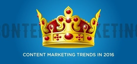 Infographic: 12 Content Marketing Trends That Will Dominate 2016 | Social Media Marketing | Scoop.it