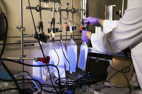 Un textile lumineux pourrait dépolluer l'air ambiant | Science et Technique | Scoop.it