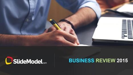 Business Review PowerPoint Template - SlideModel   PowerPoint Presentations   Scoop.it
