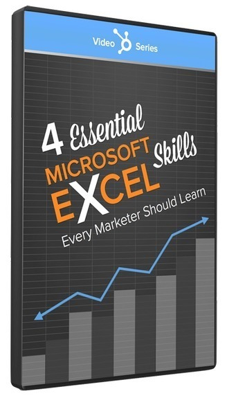 4 Essential Microsoft Excel Skills Every Marketer Should Learn [Video Series] | Inbound marketing, social and SEO | Scoop.it