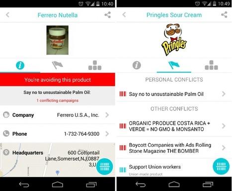L'appli qui boycotte les marques qui vont contre vos valeurs | 16s3d: Bestioles, opinions & pétitions | Scoop.it