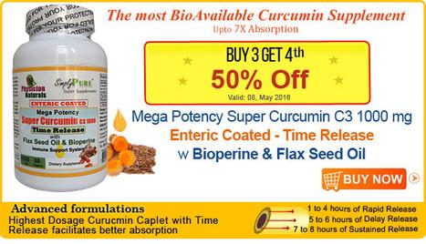 The most BioAvailable Curcumin Supplement | Super Curcumin | Scoop.it