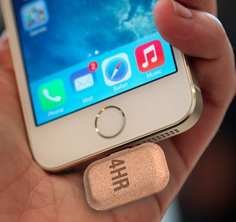 A Cardboard 'Pill' A Day Keeps Dead Smartphone Batteries Away | DigiPharmaBlog | Scoop.it