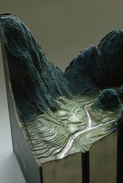 Landscapes from Old Books by Guy Laramee | Art | Scoop.it