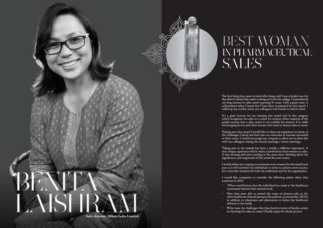 Benita Laishra Sales Associate, Abbott India Limite Best Woman In Pharmaceutical Sales Winner | Women In Sales | Scoop.it