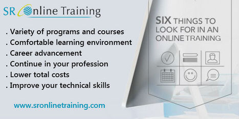 Six things to look for an Online Training   Sr Online Training   Scoop.it