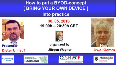 WEBINAR: How to put a BYOD-concept [Bring Your Own Device] into practice   Android and iPad apps for language teachers   Scoop.it