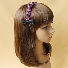 Stylish Alloy With Sequin Bowknot/Satin Flower Women's Headbands | Product We Love | Scoop.it