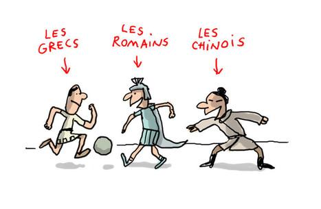 Qui a inventé le foot ? - 1jour1actu.com - L'actualité à hauteur d'enfants ! | FLE enfants | Scoop.it