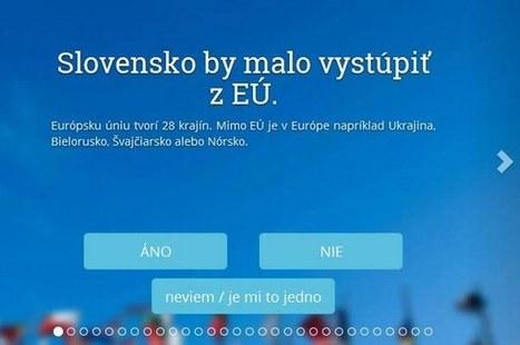 Vypočítajte si, koho by ste mali voliť v eurovoľbách 2014 (kalkulačka)   Volím, teda som   Scoop.it