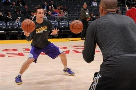 Steve Nash of Los Angeles Lakers likely out for two more weeks.. | The Los Angeles Lakers | Scoop.it