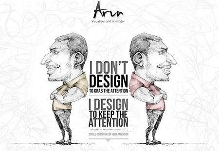 Land-of-web – Informative blog for web designers and developers » Creative and Sterling Single-Page Website Designs | Dreamweaver | Scoop.it