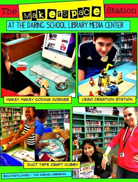 The Daring Librarian: Makerspace Starter Kit | SLS Cool Tools | Scoop.it