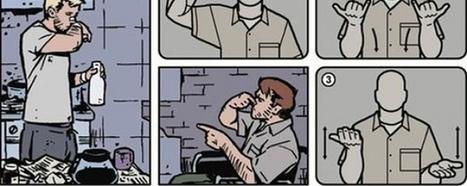 SDCC 2014 : Hawkeye de retour avec un comics en langue des signes | COMICSBLOG.fr | Malentendants Sourds | Scoop.it