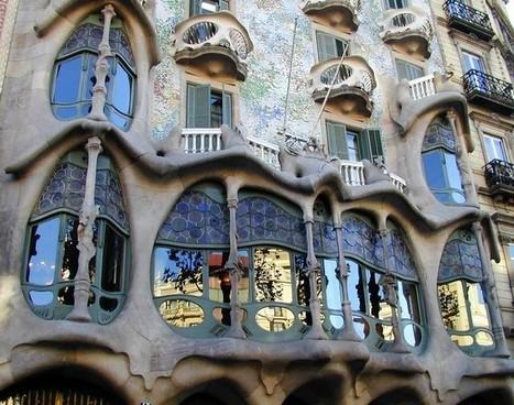 La Casa Batllo de Gaudi à Barcelone | Barcelona Life | Scoop.it