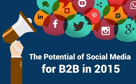 The Potential Of #SocialMedia For B2B In 2015 - #infographic | Social Media and Network Analysis | Scoop.it