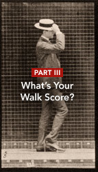 Science of City Walking Part 3: How Walk Score puts a number on walkability. | Social Foraging | Scoop.it