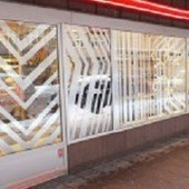 Advertising a brand using stylish window decoration | Advertising & Marketing | Scoop.it