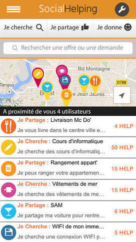 [Bon App'] Social Helping, le coup de main pas loin | Collective intelligence | Scoop.it