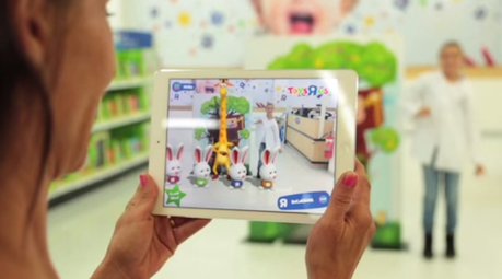 Toys R Us engages kids with virtual reality in-store Easter egg hunt - Altavia Watch - | Interactive design | Scoop.it