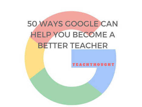 50 Ways Google Can Help You Become A Better Teacher | Soup for thought | Scoop.it