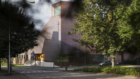 Espoon Suvelan uusi kappeli on kuin iso kahvipannu – kuparisen julkisivun väri muuttuu ajan mittaan | hobby | Scoop.it