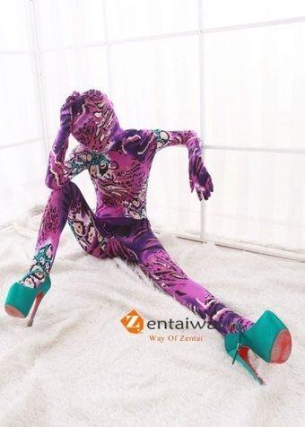 Amazing Flower Pattern Lycra Spandex Bodysuit Zentai [2013253] - $47.00 : zentaiway.com | Cool pattern zentai suits | Scoop.it