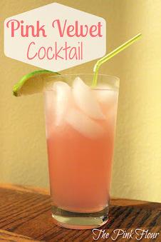 Pink Velvet Cocktail | Hospitality | Scoop.it