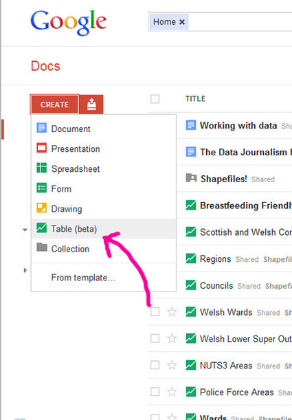 Putting it on a map – Google, BatchGeo and Fusion Tables   clairemiller.net   Data journalism tools   Scoop.it