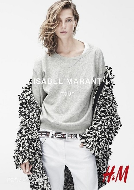 ISABEL MARANT & HM / FALL 2013 AD CAMPAIGN | fashion on dapaper mag | Scoop.it
