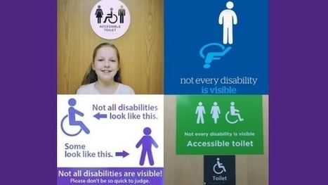 'Accessible toilet signs - not every disability is visible' campaign | Welfare, Disability, Politics and People's Right's | Scoop.it