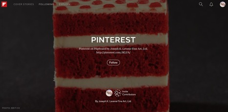 Follow Pinterest on Flipboard by Joseph K. Levene Fine Art, Ltd. | Pinterest | Scoop.it