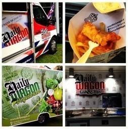 Daily Wagon, Le premier concept de food trucks organisé en réseau | Wild Life | Scoop.it
