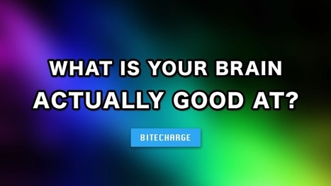 I got Ingenuity and Creativity. What is your brain actually good at? | Communication design | Scoop.it