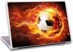 Buy Fire Football Laptop Notebook skins high Quality Vinyl Skin - LP321 at Shopper52 | Cheap Online Shopping | Scoop.it