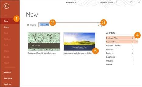Mejoras de Microsoft Office para personas ciegas o con problemas de visión | Capaces de casi todo | Scoop.it