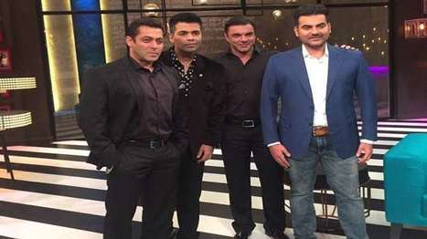 Koffee with Karan gets Salman Khan & Bros on the couch! | NewsX | Scoop.it