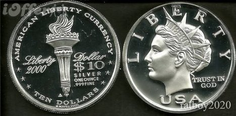 Secret Service demands ebay remove all Norfed Liberty dollars as counterfeits   Barter News   Scoop.it