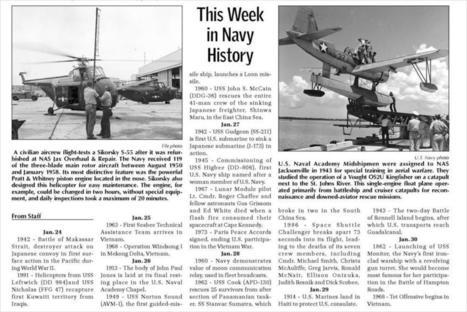 This Week in Navy History | Navy Sitrep | Scoop.it